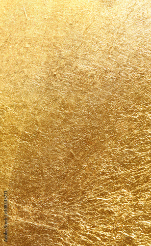 gold texture used as background - 308335771