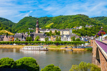 Cochem Old Town In Germany