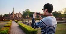 Young Thai Male Tourist Taking...