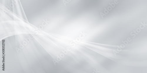 Fototapety, obrazy: white gray motion background / grey gradient abstract background