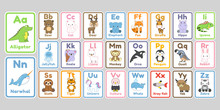 Cute Kawaii Animals Alphabet L...