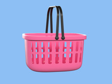 3d, 3d Rendering, Abstract, Backdrop, Background, Bag, Basket, Blank, Business, Buy, Cart, Cg, Clean, Clear, Commerce, Concept, Container, Decoration, Empty, Geometric, Handle, Illustration, Market, M