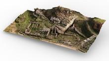 3D  Historical Ancient Mountai...