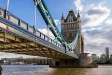 Up Close The Tower Bridge