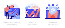 Company Promotion Icons Set. C...
