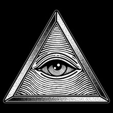 Eye Triangle One Traditional T...