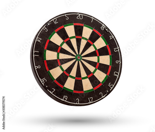Cuadros en Lienzo Classic dartboard isolated