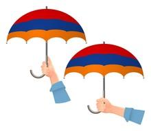 Armenia Flag Umbrella