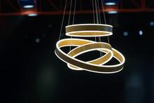 Modern Wooden Ceiling Lamp Light Bulbs Ball Shape Geometry Design Decoration Contemporary Interior Concept