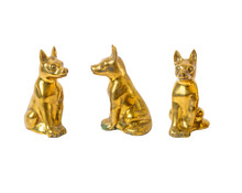 Brass Dog Statues Are Ancient ...