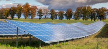 Solar Panels In Autumn Entourage