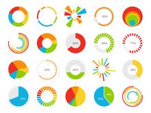Pie Charts. Graphic Segmentati...