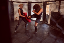 Two Female Mixed Martial Arts ...