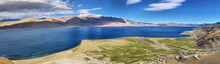 Tso Moriri Lake In Rupshu Vall...