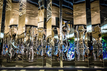 Haha Mirror Glass On City Buil...