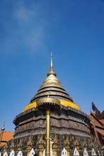 Pagoda Of Wat Phra That Lampang Luang , Temple Thailand
