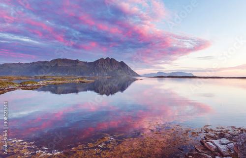 fototapeta na drzwi i meble Northern Norway