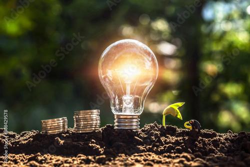 Fotografiet  energy concept