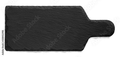 Fototapeta Deska do krojenia z kamienia łupkowego obraz