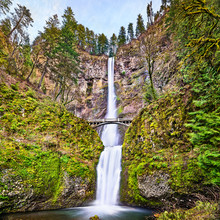 Multnomah Falls In The Columbi...