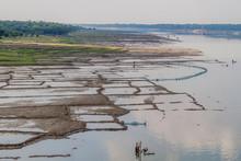 Flooded Fields Next To Mahanan...