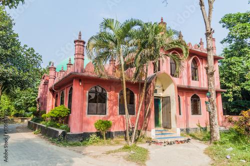 Photo Abdul Hamid Mosque in Sonargaon town, Bangladesh