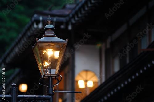 Valokuva 銀山温泉のガス灯