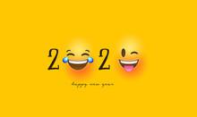 Happy New Year 2020 Funny Emot...