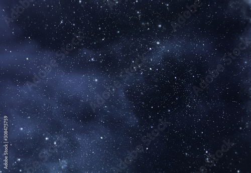 abstract space background - 308475759
