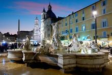 Neptun Fountain, Piazza Navona...