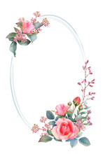 Picturesque Oval Frame With Pi...