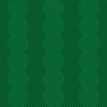 Seamless Cable Knit Green Pattern. Christmas Background