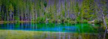 Grassi Lakes Near Canmore Banff Alberta Canada