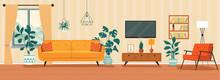 Living Room Interior. Comforta...