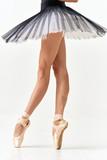 Woman ballerina dance exercise