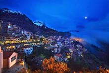 Night View Of Arachova, The Mo...