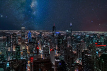 An Aerial View Of Chicago, Ill...