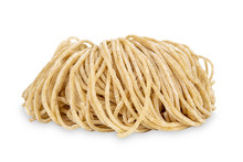 Chinese Dry Egg Noodles Isolat...