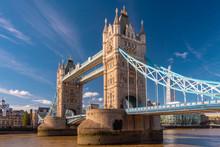 The Tower Bridge In A Sunny Da...