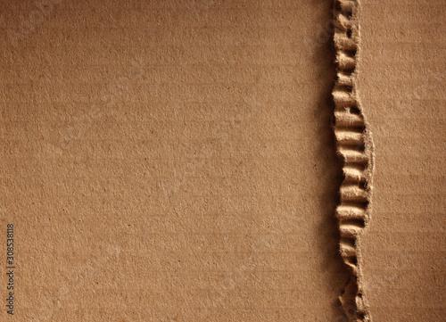 Fotografía Corrugated cardboard