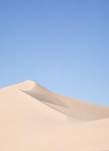 Sand Dune Against Sky