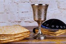 Wine Holiday Matzoth Celebration Matzoh Jewish Passover Bread Torah