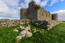 Muness Castle, 1598, Most Northerly In United Kingdom, Coastal Views, Uyeasound, Island Of Unst, Shetland Isles, Scotland