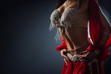 Beautiful Belly Dance Of A Gir...