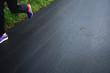 Sportler beim Laufen