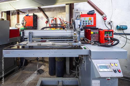 Photo Overlap arc welding machine