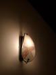 Schöne alte Wandlampe im Stil der Fünfzigerjahre in Frankfurt am Main