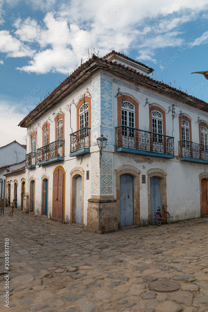 Old colonial Town of Paraty, Brazil, South America