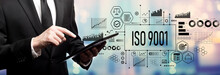 ISO 9001 Concept With Business...