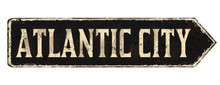 Atlantic City Vintage Rusty Me...